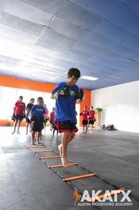 Agility Drills Kids MMA