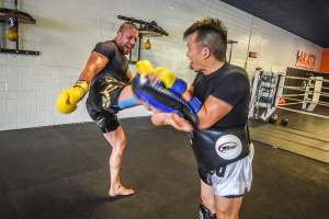 Padwork Muay Thai Kickboxing