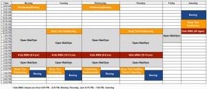 AKATX Current Schedule
