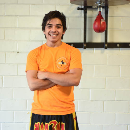 Erik Garcia Kickboxing Instructor