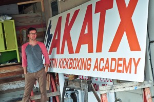 Joe Swec Sign Painting EAST Austin Studio Tour