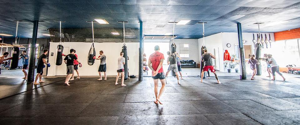 Kickboxing Bag Circuit - Austin Kickboxing Academy