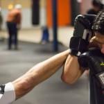 Blocking a Headkick in Muay Thai