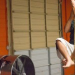 Climbing the rope - functional fitness training