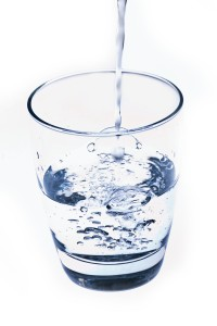 Drinking water for detox