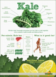 Kale infographic