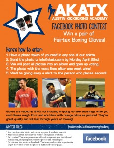 Win a pair of Fairtex Gloves!