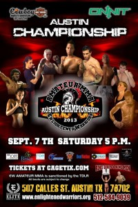 Belts of Honorious Austin Championship Poster