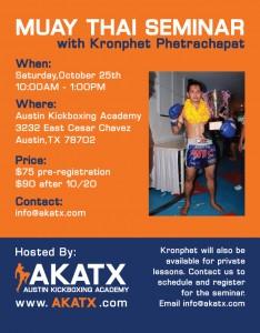 Kronphet Seminar Flyer