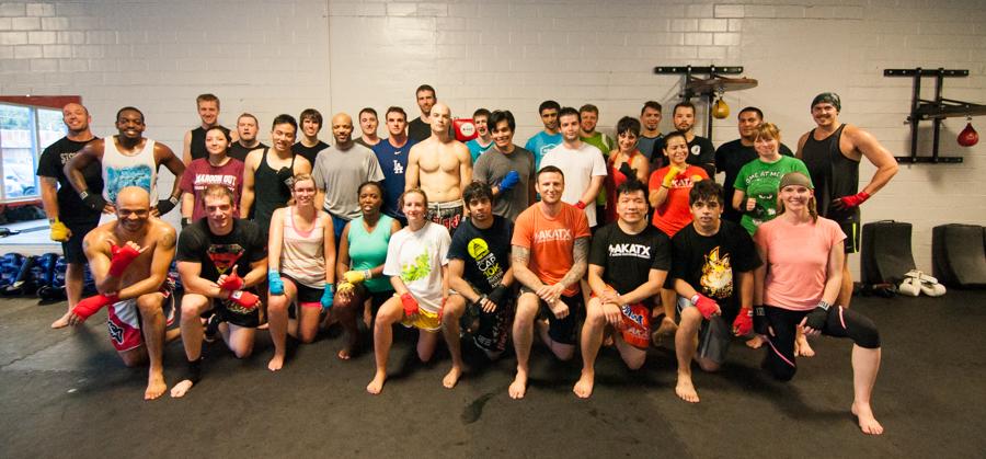 Muay Thai Group Photo