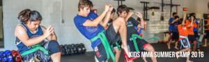 2016 Kids MMA Summer Camp