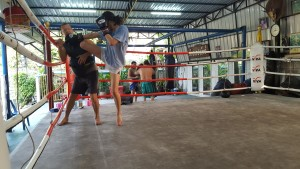 Padwork at Dejrat Gym