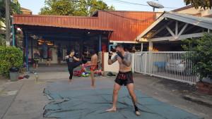 Training at Dejrat in Bangkok
