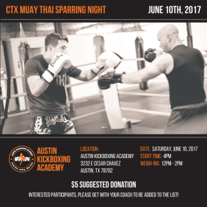 CTX Sparring Night