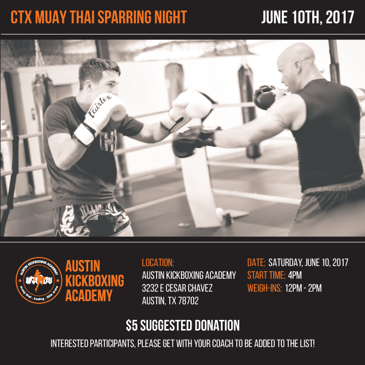 CTX Sparring Night - June 10th