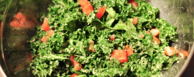 Kale Avocado Salad and the Benefits of Kale